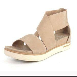 Eileen Fisher Sport Platform Wrap Sandal Size 7.5